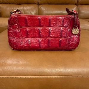 Luxurious Red Brahmin shoulder bag